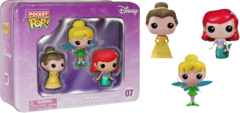 #04 - Ariel - Tinker Bell - Belle (Disney)