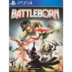 Battleborn With Collectible Figure  (Playstation 4)