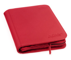 Red - Zipfolio XenoSkin (Ultimate Guard) - 4 Pocket