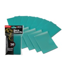 Matte Teal - Standard Sleeves (BCW) - 50 ct