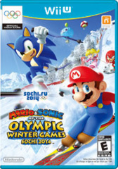 Mario and Sonic At The Olympic Winter Games - Sochi 2014 (Wii U)