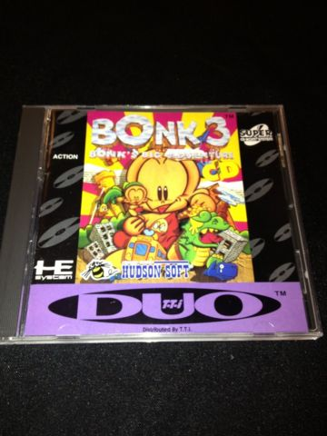 Bonk 3: Big Adventure (Super CD)