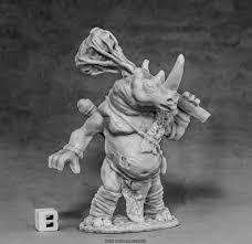 Avatar of Resilience - Rhino (Dark Heaven Bones) - 77587