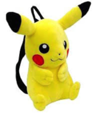 Pikachu - Pokemon (Backpack) - Plush