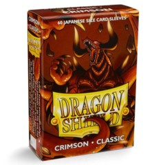 Crimson Classic - Japanese Boxed Sleeves (Dragon Shield) - 60 ct