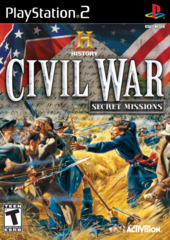 History Channel - Civil War - Secret Missions (Playstation 2)