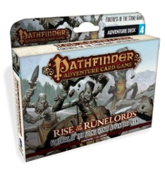 Pathfinder Adventure (Card Game) - Rise of the Runelords - Fortress of the Stone Giants Adventure Deck