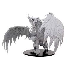 Gargantuan Red Dragon (Pathfinder Battles Deep Cuts) - Unpainted