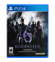 Resident Evil 6 - HD (Playstation 4)