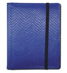 Blue - Dragon Hide - Pocket Binder (Legion) - 3x4