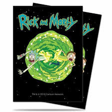 Rick and Morty V3 - Standard Sleeves (Ultra Pro) - 65ct