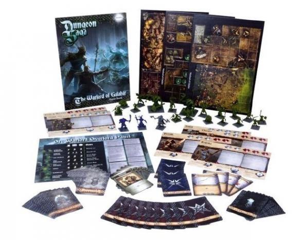 Dungeon Saga - The Warlord of Galahir