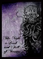 Night is Dark - Double Matte (Legion) Standard Sleeves - 50ct