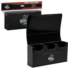 Black - Triple Deck Box (Monster)