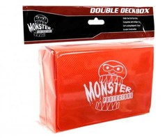 Orange - Double Matte Deck Box (Monster)