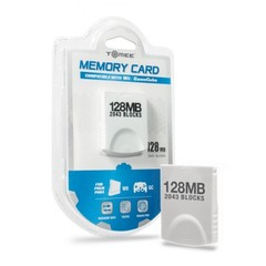 128MB Memory Card for Wii/ GameCube - Tomee