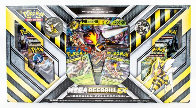 Mega Beedrill-EX Premium Collection Box