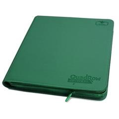 Green - Zipfolio Xenoskin (Ultimate Guard) - QuadRow