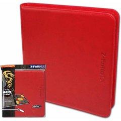Red - Z-Folio LX Album (BCW) - 12 Pocket