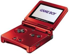 Game Boy Advance SP - Flame Red