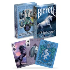 Unicorn Playing Cards - (Bicycle)