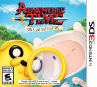Adventure Time: Finn and Jake Investigations (Nintendo) 3DS