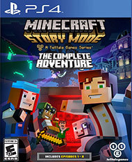 Minecraft: Story Mode Complete Adventure (Sony) - PS4