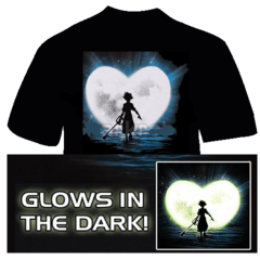 Heart of Destiny T-shirt (Glow in the Dark)
