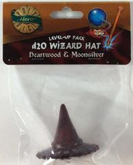 Heartwood - Moonsilver - Wizard Hat (PolyHero Dice) - Level Up Pack