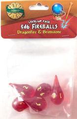 Dragonfire - Brimstone - 5d6 Fireballs (PolyHero Dice) - Level Up Pack