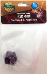 Heartwood - Moonsilver - 1d20 Orb (PolyHero Dice) - Level Up Pack