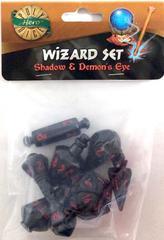 Shadow - Demon's Eye (PolyHero Dice) - Wizard Set
