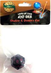 Shadow - Demon's Eye - 1d20 Orb (PolyHero Dice) - Level Up Pack