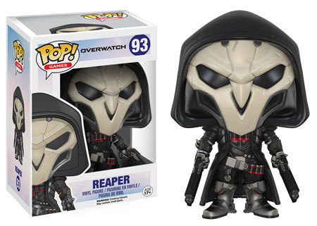 93 reaper overwatch toys collectables funko funko pop