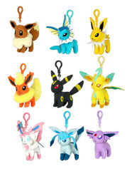 Evee Evolutions (Plush Keychain) - Pokemon
