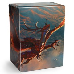 Crimson Logi Dragon - Deck Box (Dragon Shield)