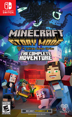 Minecraft Story Mode The Complete Adventure (Nintendo) Switch