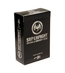 Superfight The Sword & Sorcery Deck