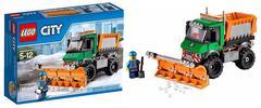 City - Snow Plow Truck (Lego) - 60083