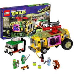 The Shellraiser Street Chase - TMNT (Lego) - 79104