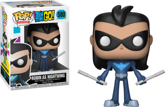 #580 - Robin as Nightwing (Teen Titans Go!)