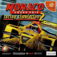 Monaco Grand Prix Racing Simulator 2 (Sega) Dreamcast