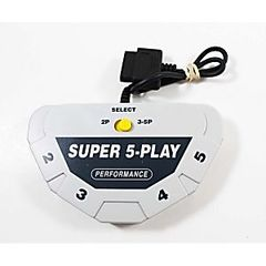 Multitap Adapter (Super Nintendo) Performance Super 5-Play