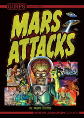 GURPS: Mars Attacks
