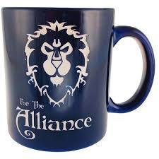 World of Warcraft: Etched Coffee Mug - Alliance