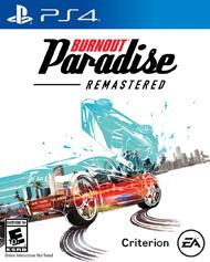 Burnout Paridise Remastered (Sony) PS4