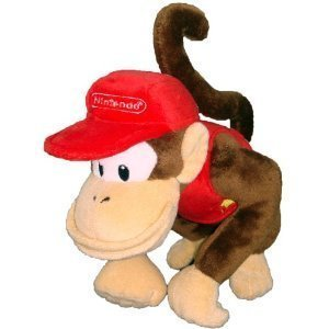 Diddy Kong Plush Toy