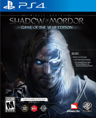 Middle-Earth- Shadow of Mordor GOTY (PS4)
