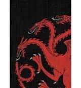 House Targaryen - A Game of Thrones Sleeves - (Fantasy Flight) - Standard