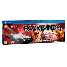 Rock Band 4 Stratocaster With Game.